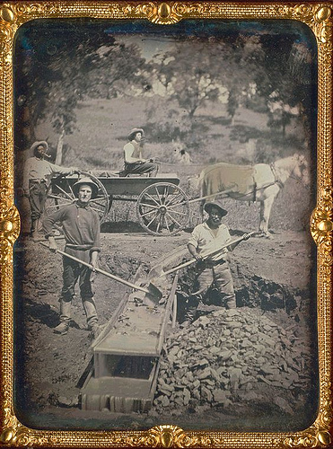 the gold rush tools. The California Gold Rush